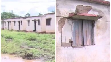 Photo of Houses built by K'taka govt in Gadag develop cracks, crumble