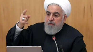 Photo of Iran's Rouhani calls for 'national unity' after jet downing