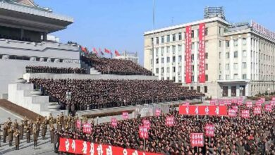 Photo of N. Korea holds massive rally amid tensions with US