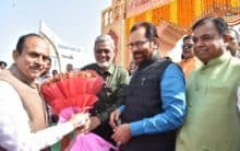 "Inaugurated the ""Hunar Haat"" People plaza"