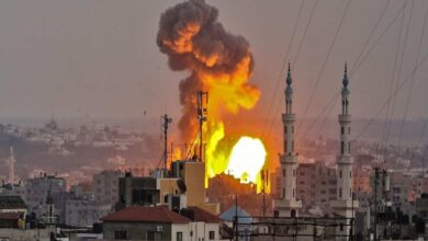 Photo of Israel strikes Gaza after incendiary balloons launched: army