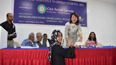 Photo of ICNA Relief extends financial assistance to orphan students