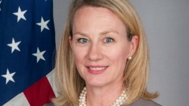 Photo of US envoy Alice Wells to arrive in Pakistan on 4-day visit