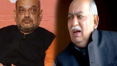 Photo of Book Amit Shah for violating Section 144: Poet Munawwar Rana