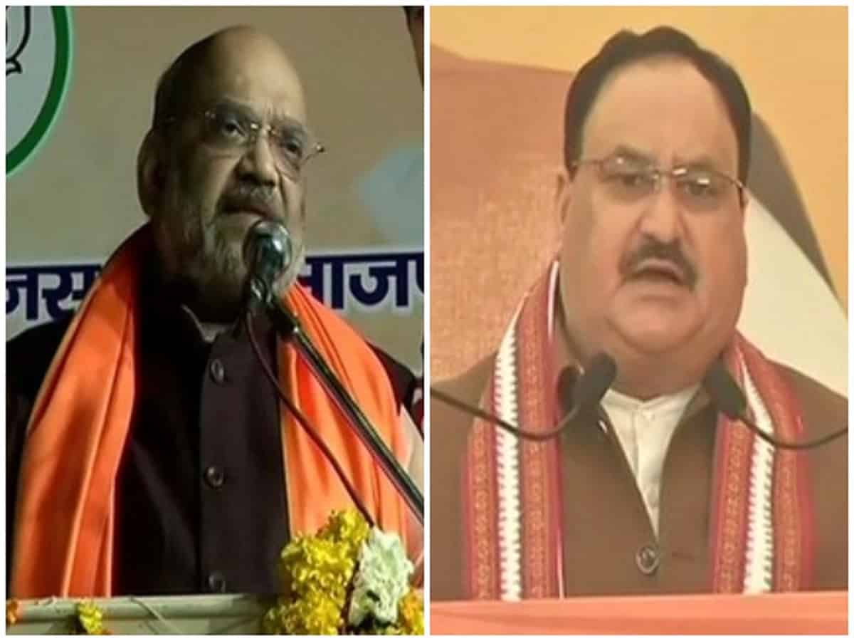 Amit Shah, Nadda to hold 3 rallies each in Delhi today