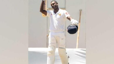 Photo of Angelo Mathews registers his first double ton in Test cricket