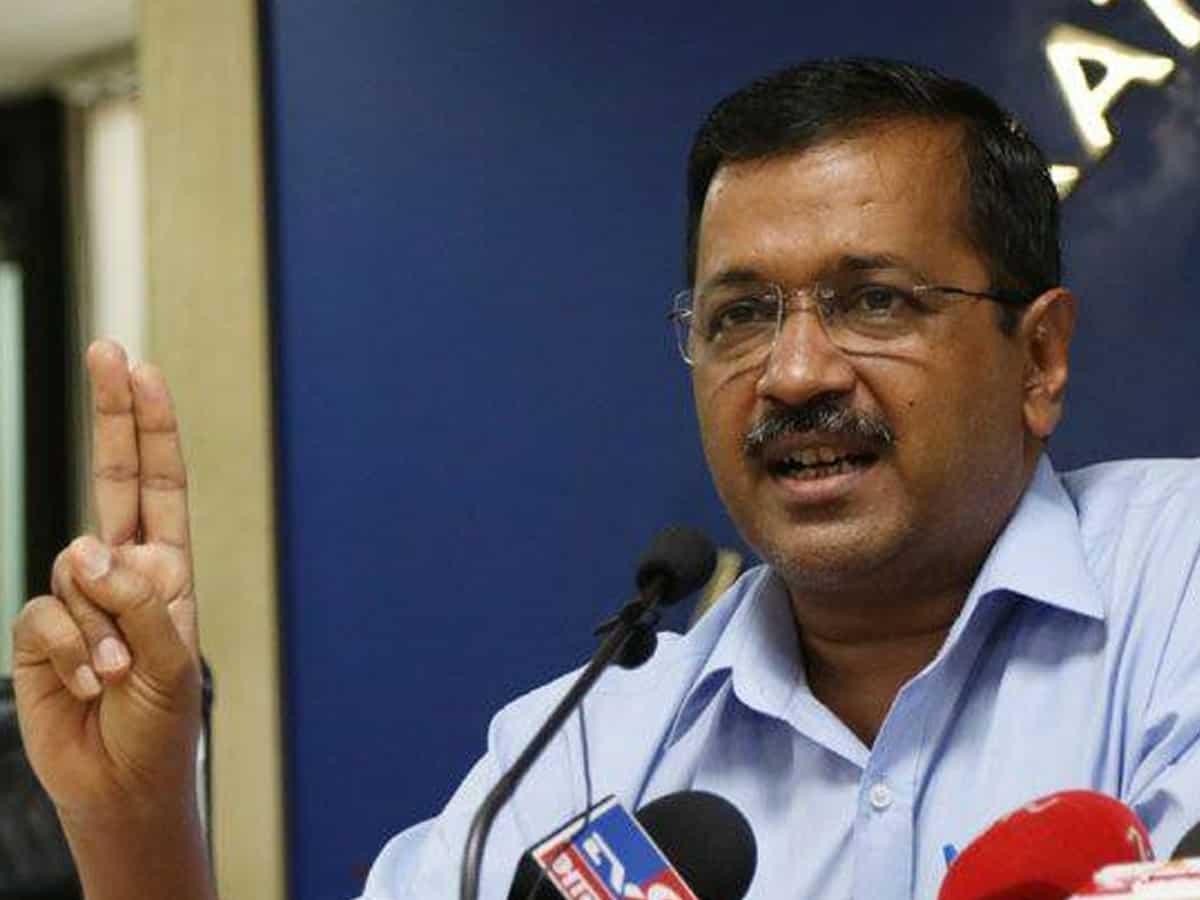 Delhi people don't support BJP: Kejriwal