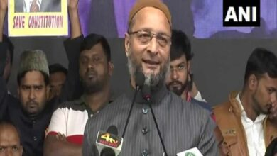 Photo of Owaisi trying to become political Sultan of Muslims: BJP leader