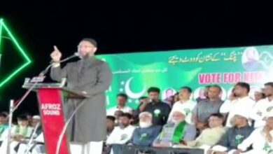 Photo of Owaisi alleges biases in recovering money against damages during agitations