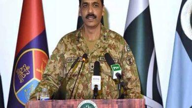 Photo of Pak DG ISPR Asif Ghafoor replaced