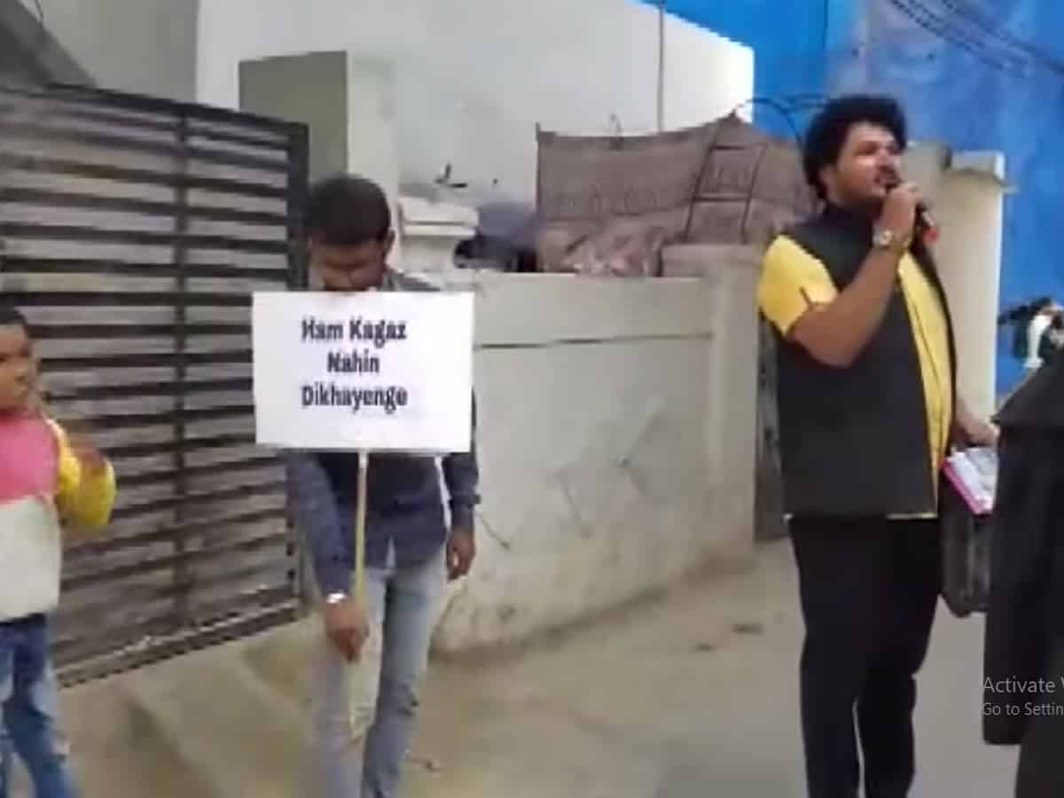 """""""Hum Kagaz Nahi Dikhayenge""""; an awareness campaign"""