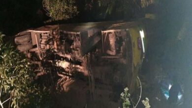 Photo of AP: 1 killed, 6 injured in road accident in Anantapuram district