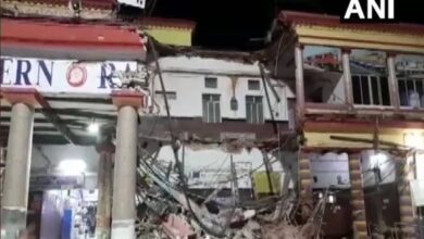 Photo of Portion of railway station collapses in Bengal