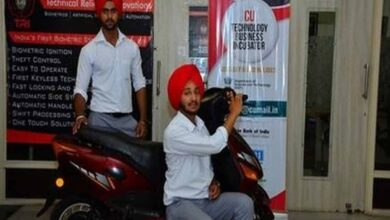 Photo of Students develop Biometric Security System for two wheelers