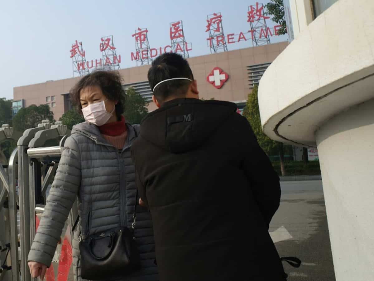 Indian, first foreigner in China to contracts SARS-like virus
