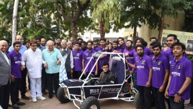 Students of MJCET creates all-terrain vehicle for SAE-BAJA event