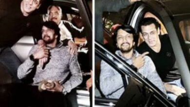 Photo of Kichcha Sudeep shares post after Salman Khan gifts BMW M5 to him