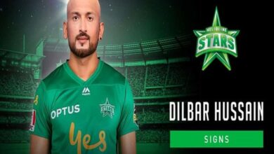 Photo of Melbourne Stars include new signee Dilbar Hussain for Heat clash