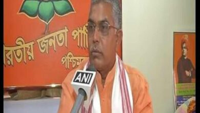 """Photo of Woman files police complaint against BJP""""s Dilip Ghosh"""
