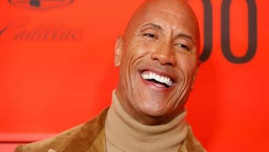 Photo of Dwayne Johnson shares adorable throwback picture of daughter Jasmine