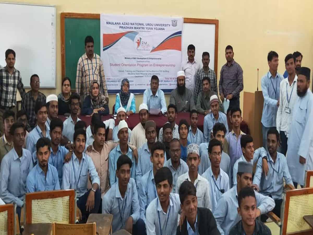 Entrepreneurship Development Program inaugurated at MANUU