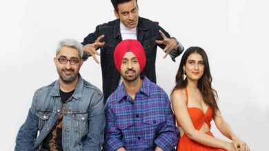Photo of Diljit Dosanjh, Manoj Bajpayee in a family comedy