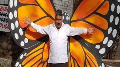 "Photo of Mexico's 'Butterfly Man' killed by ""criminal gangs"""