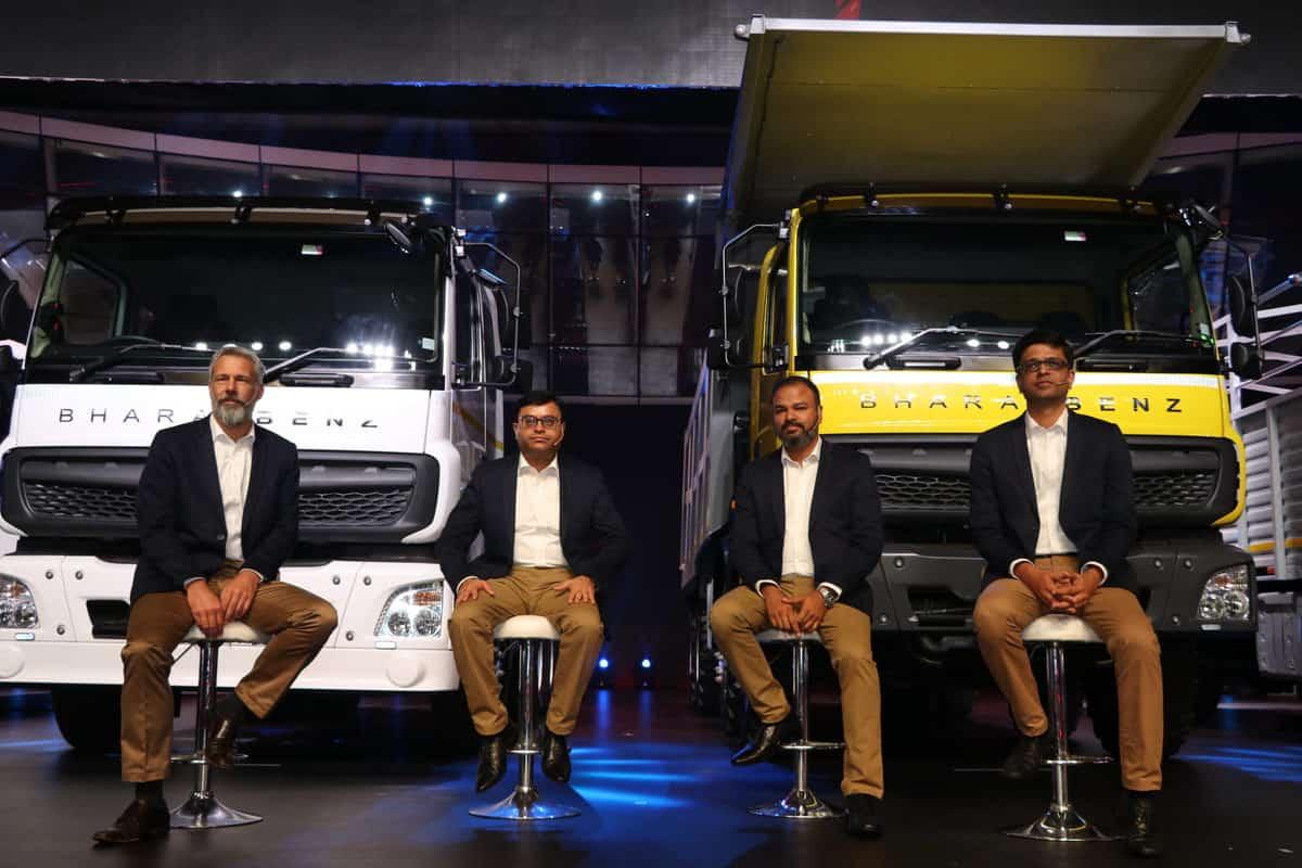 BharatBenz premieres all-new CV portfolio for India