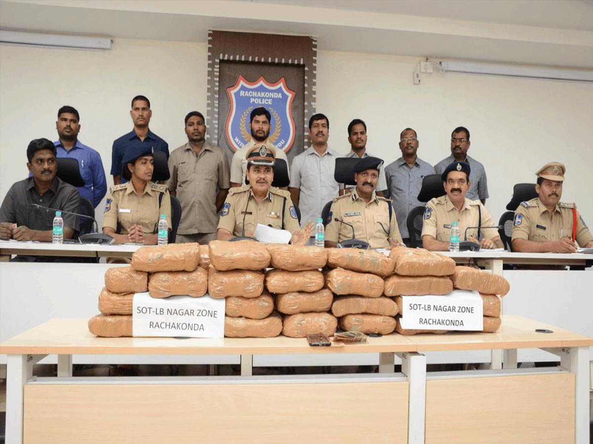 Three interstate drug peddlers held in Hyderabad