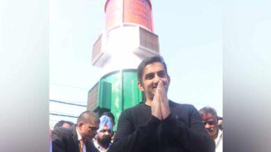 Photo of Gautam Gambhir inaugurates air purifier prototype in Delhi