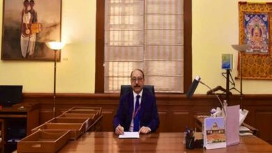 Photo of Harsh Vardhan Shringla takes charge as Foreign Secretary