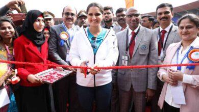 Photo of Hyderabad: Sania Mirza inaugurates Inter Society Sports League