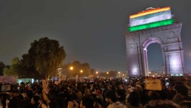 India-Gate protest against CAA