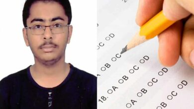 Photo of TS student who scored 100 percentile in JEE Main exam