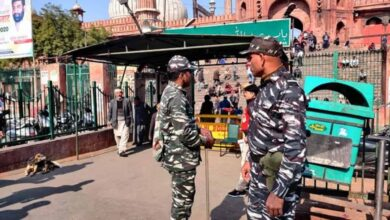 Photo of Security beefed up at Jama Masjid as precautionary measure
