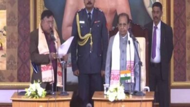 Photo of Jogen Mohan, Sanjoy sworn-in as ministers in Assam government