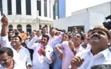 KTR opens Sankranti Festival, flies kite at Necklace Road