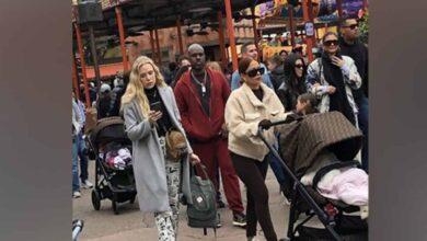 Photo of Kardashian clan spotted at Disney World