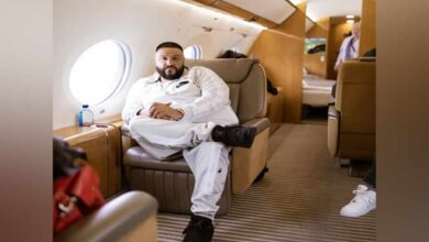 Photo of DJ Khaled shares first picture of his newborn son Aalam