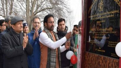 Photo of Union MoS visits Ganderbal as part of public outreach programme