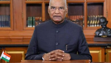 Photo of People have power to decide country's future: Kovind