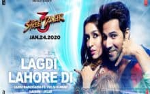 'Street Dancer 3D' makers drop peppy number 'Lagdi Lahore Di'