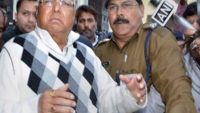 Photo of Lalu Prasad appears before CBI court in Ranchi