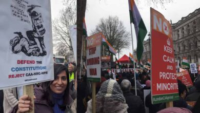 Photo of CAA-NRC: Shaheen Bagh's slogans reached London