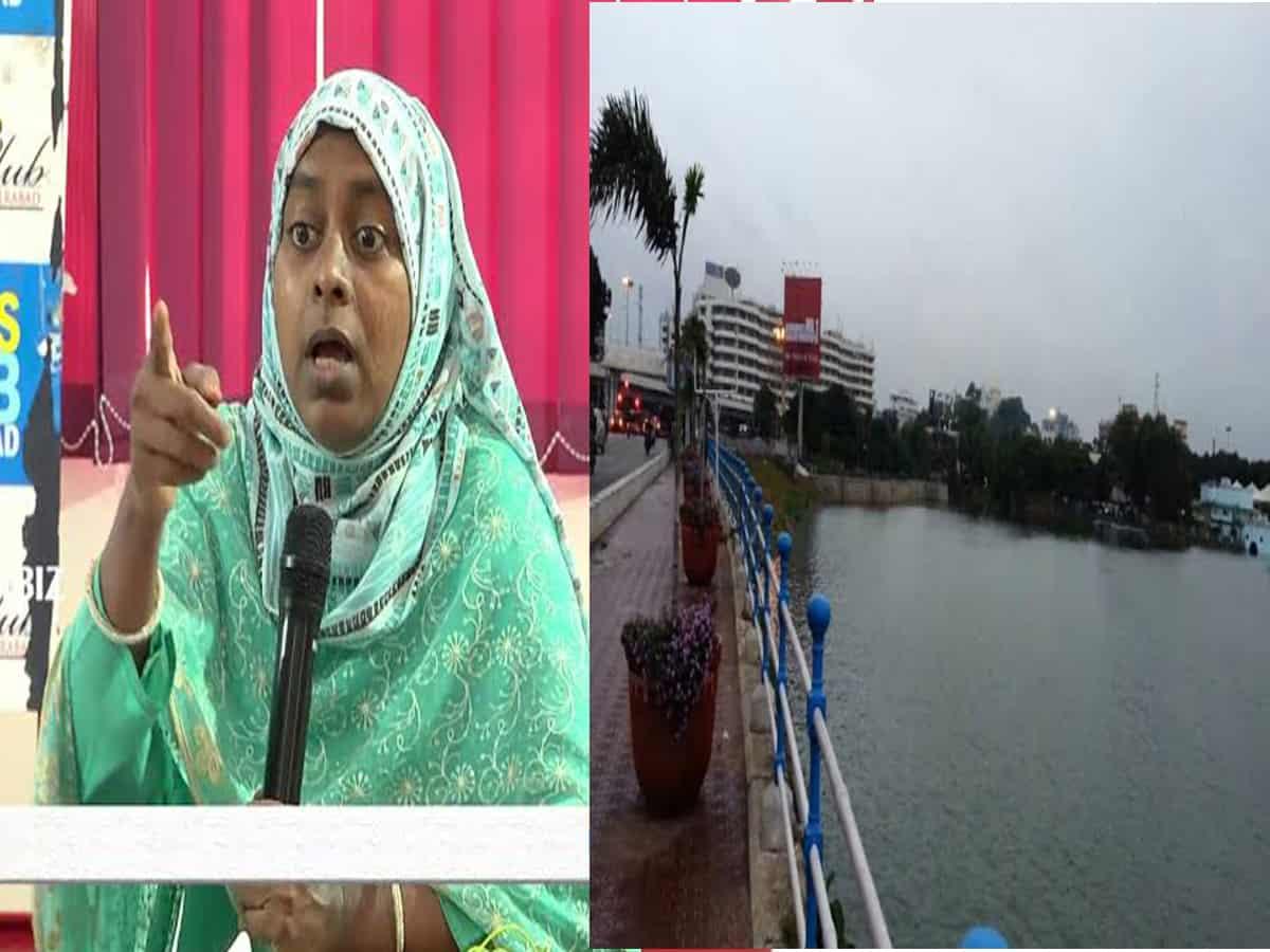 Activist appeals to HC over encroachment on Hussain Sagar FTL