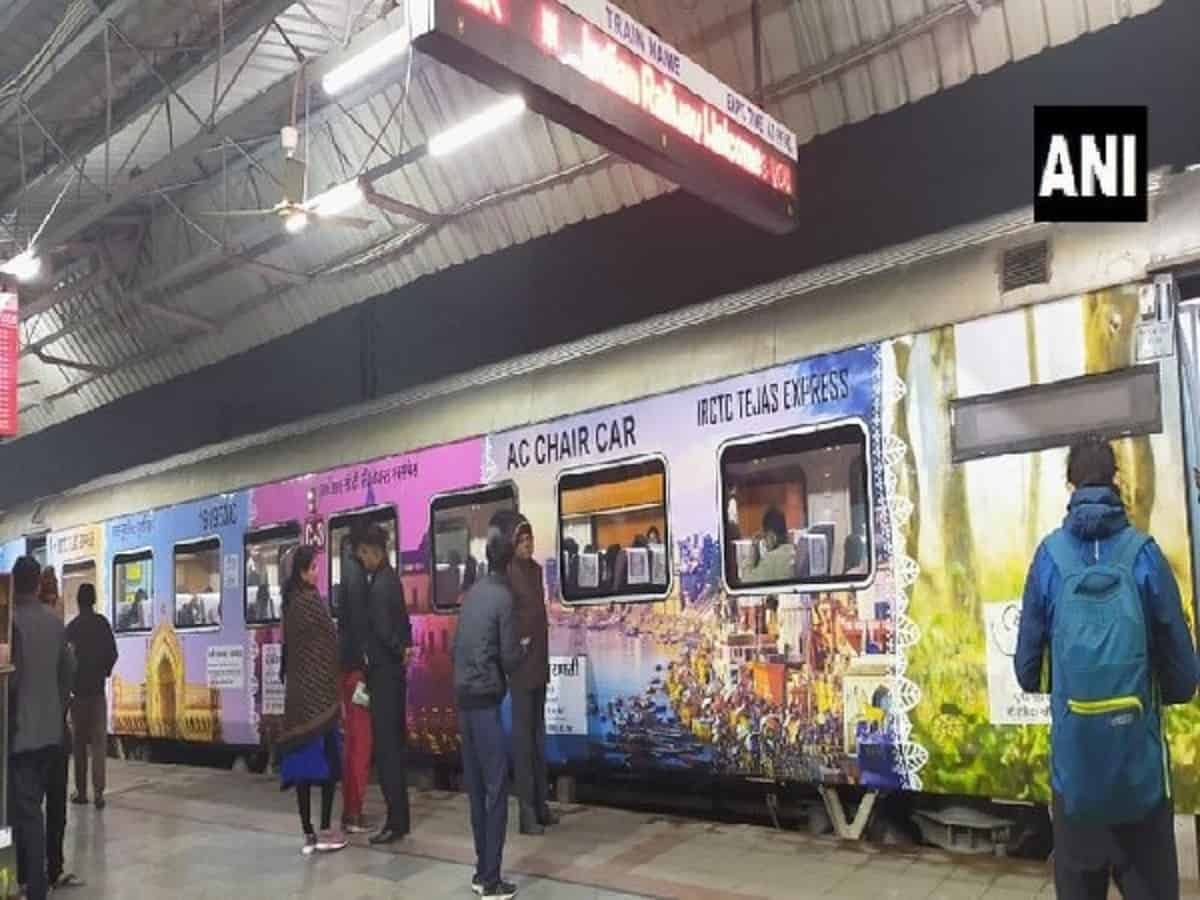 Lucknow-Delhi Tejas Express beautified with decals