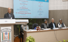 Universities are places of discussions and learning: Dr. Shahid