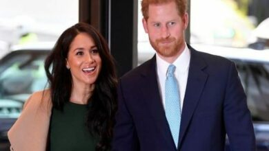 Photo of British royal couple to step back as members of royal family