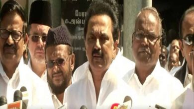 Photo of Some are trying to paint DMK as Hindu enemy: Stalin