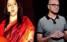 Literate needs to be educated: Lekhi targets Nadella over CAA